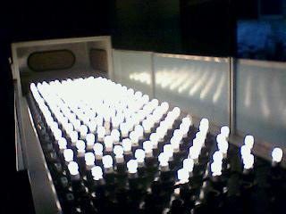 12m LED bulb aging line
