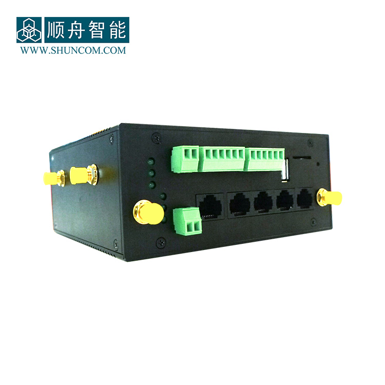 4G LTE Ethernet Router with External Antenna Works as Modbus Gateway for Zigbee Connector