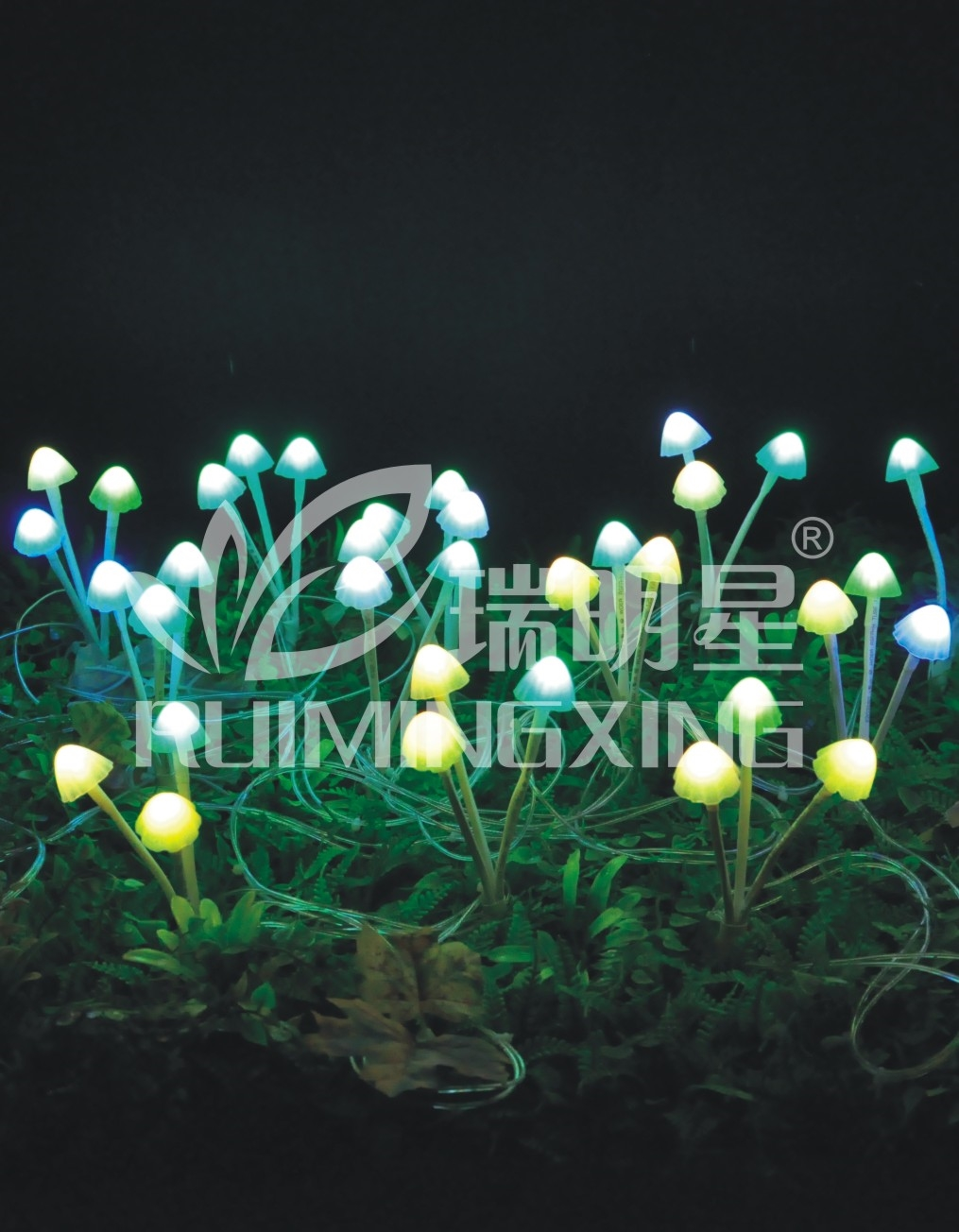 Zhongshan 220V RGB mushroom for decoration outdoor