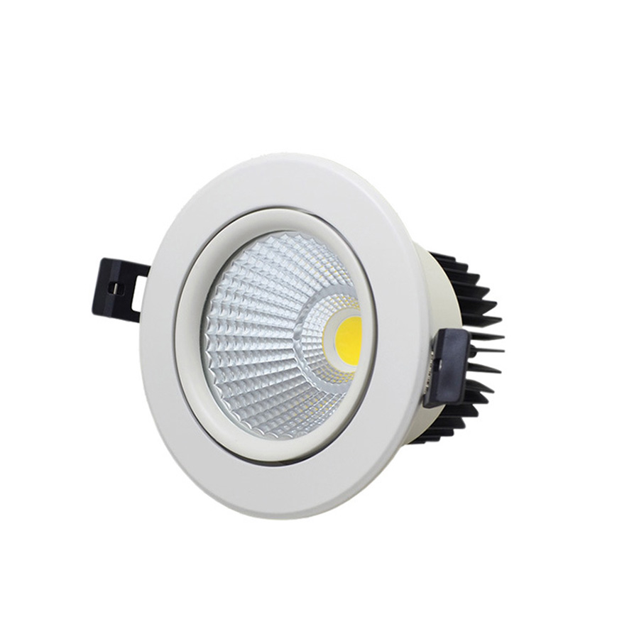 New round led updown wall light 12w cob led downlight