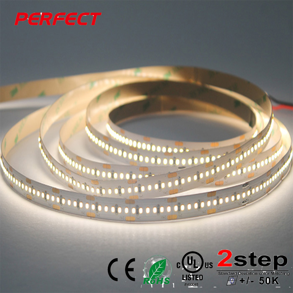 High Brightness WW NW PW CW CRI90 SMD 2216 LED Flexible Strip