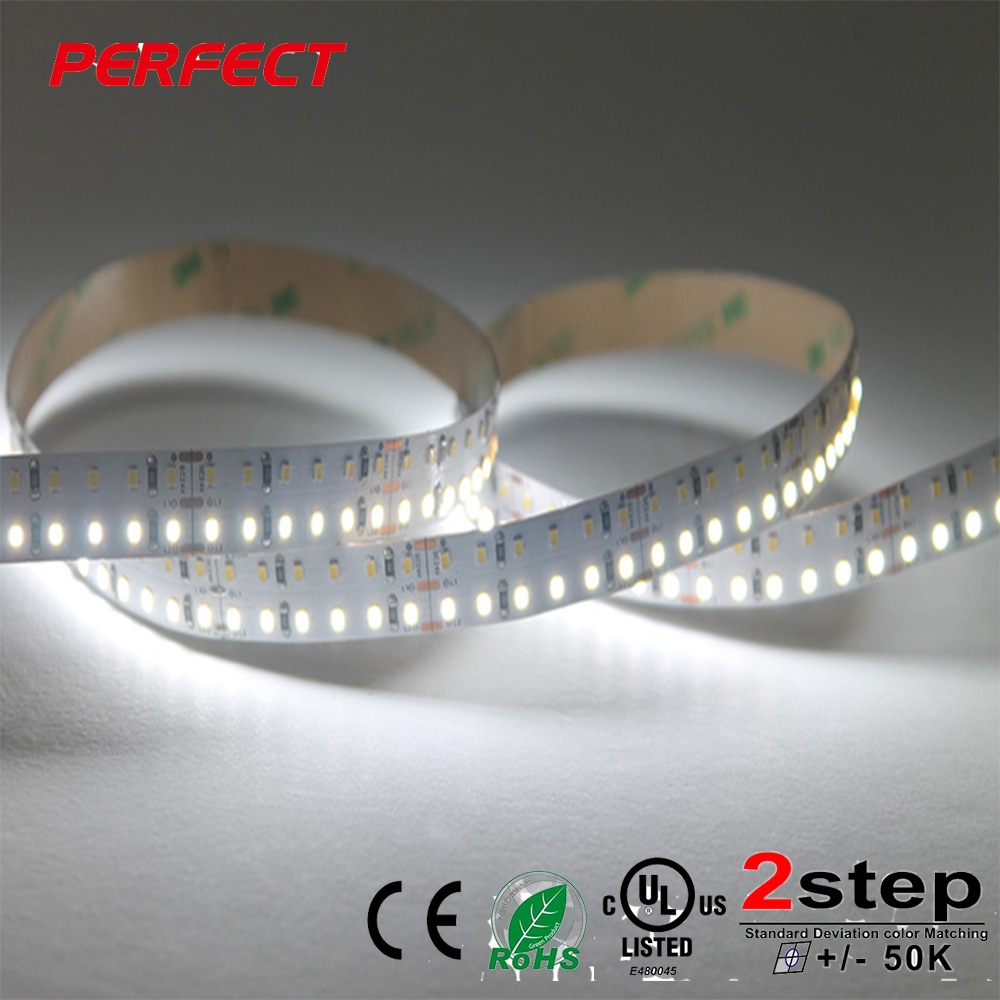 2018 new high cri 12mm pcb width 24V 312 leds m smd 2216 single color led strip lighting