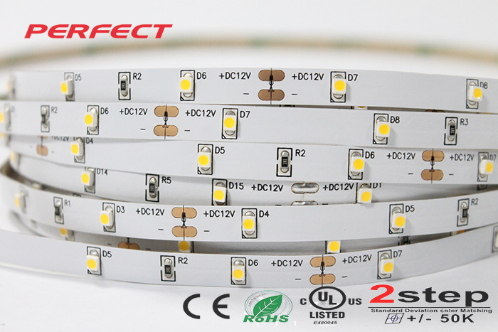 30 Leds M LED Strip IP20 24V SMD 3528 Warm White LED Flexible Strip