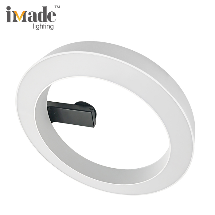 Modern adjustable 25w led smd ceiling light rings
