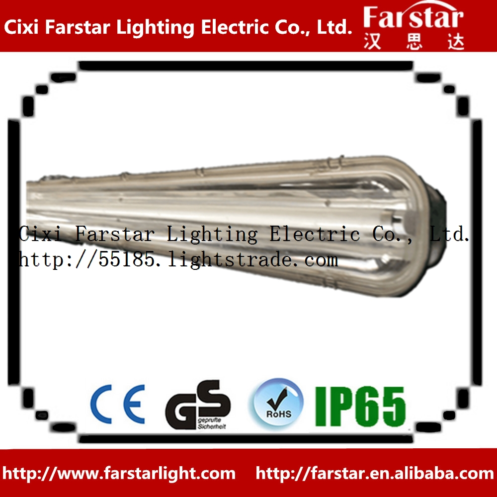 T8 urban rail transit light stainless steel light with PC cover