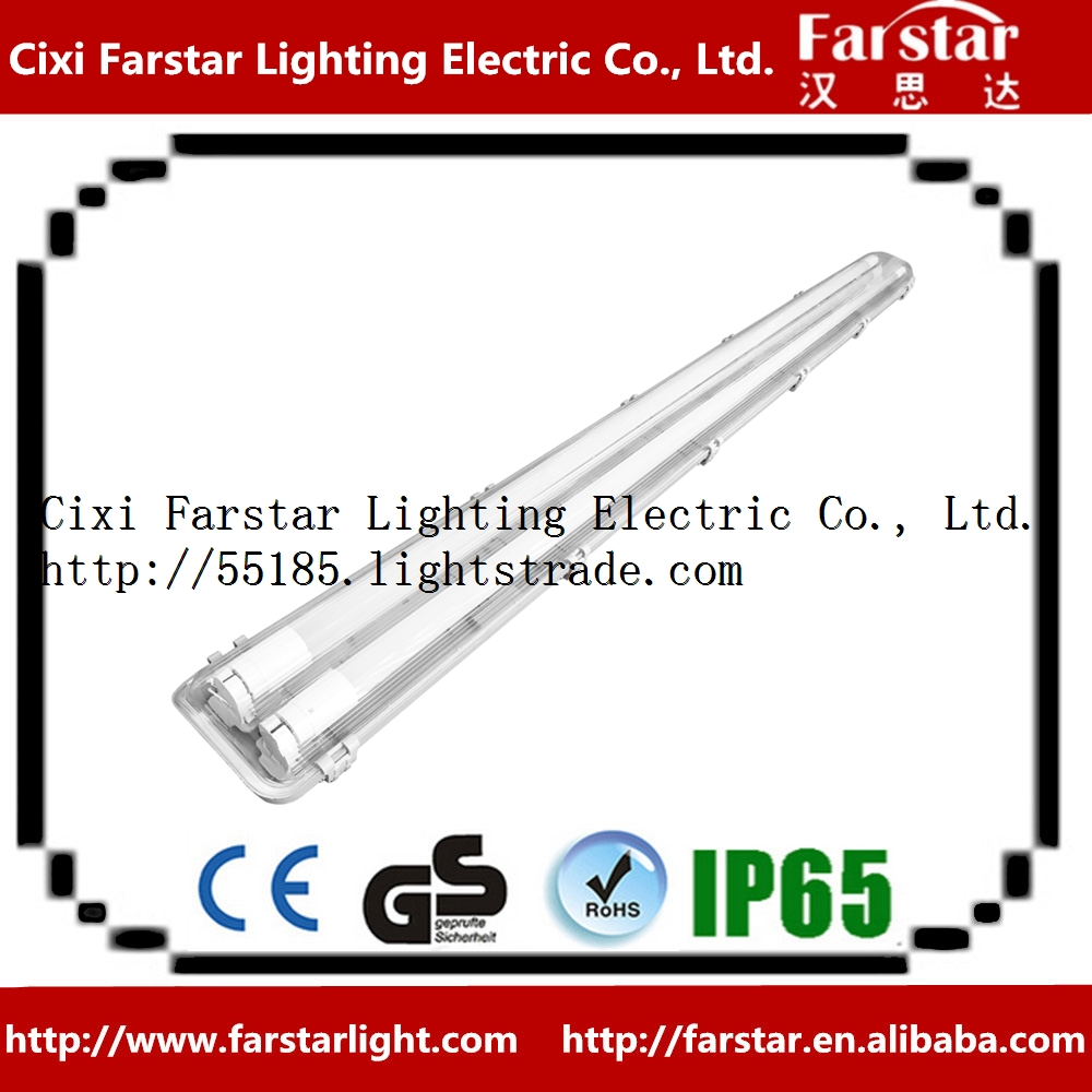 Waterproof LED lighting without metal plate only for LED tube