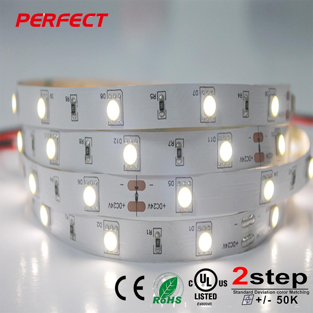 LED Strip 5050 DC12V Flexible LED Light 30LED m 5m Lot White Warm White Cold White RGB 5050 LE