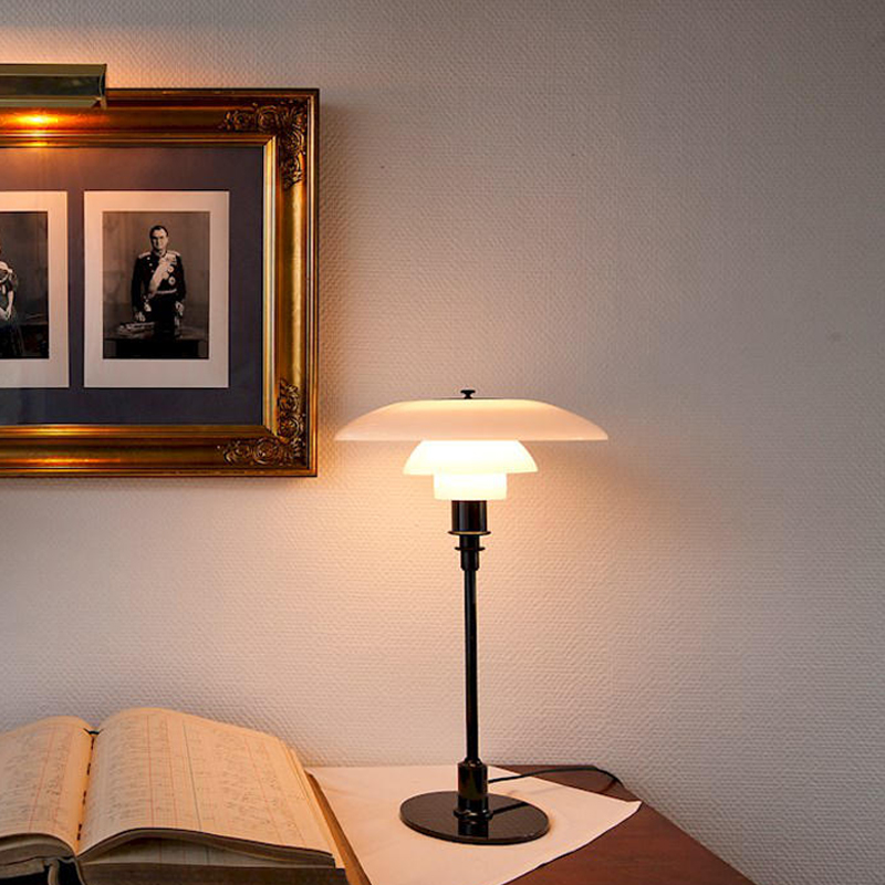 PH3 floor glass table lamp living room study bedroom bedside decorative lamp