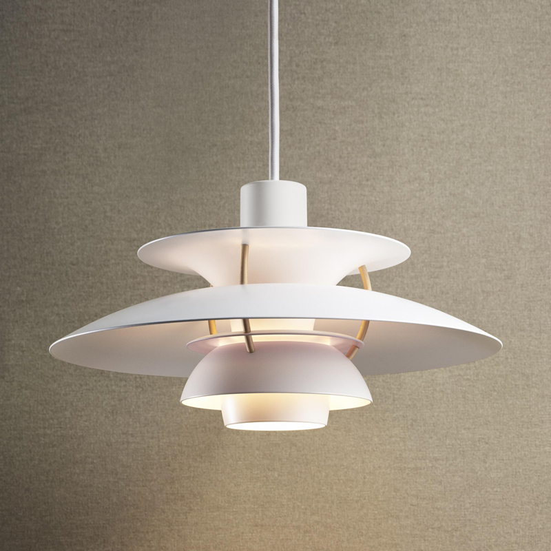 丹麦LouisPoulsen PH5 MINI现代简约吊灯糖果色北欧餐厅书房灯