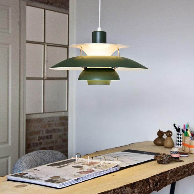 LouisPoulsen丹麦吊灯北欧ph5餐厅灯展厅简约现代大气高档大吊灯
