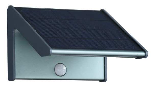 2018 innovative solar wall light with sensor