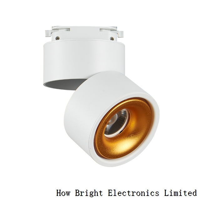 New Arrival 12 Watt Led Cob Track Light 360 degree rotate for Office Cloth Shop Showroom Hotel