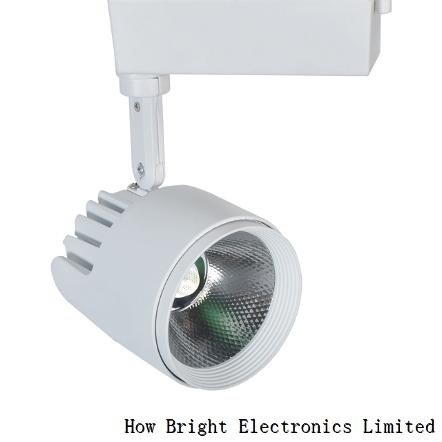 High Quality White Black 20W 35W COB Aluminum Led Track Light