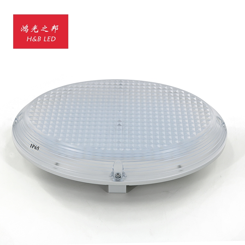 HJ1-017L Ceiling light with aluminum base+PC cover