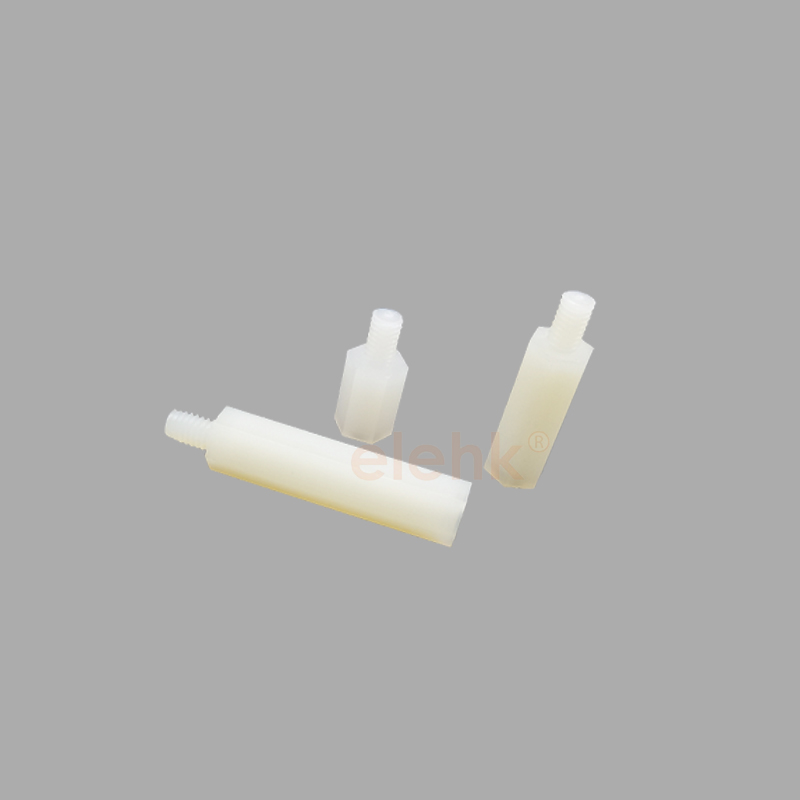 ODM OEM Factory White Black Nylon66 Hex Plastic Spacer M3