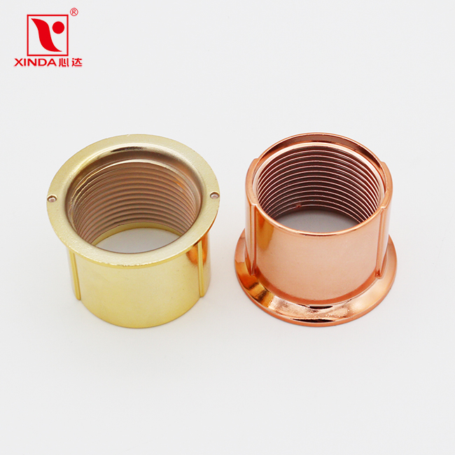 Factory price E27 Heightening ring plastic accessory white black gold rose gold colour