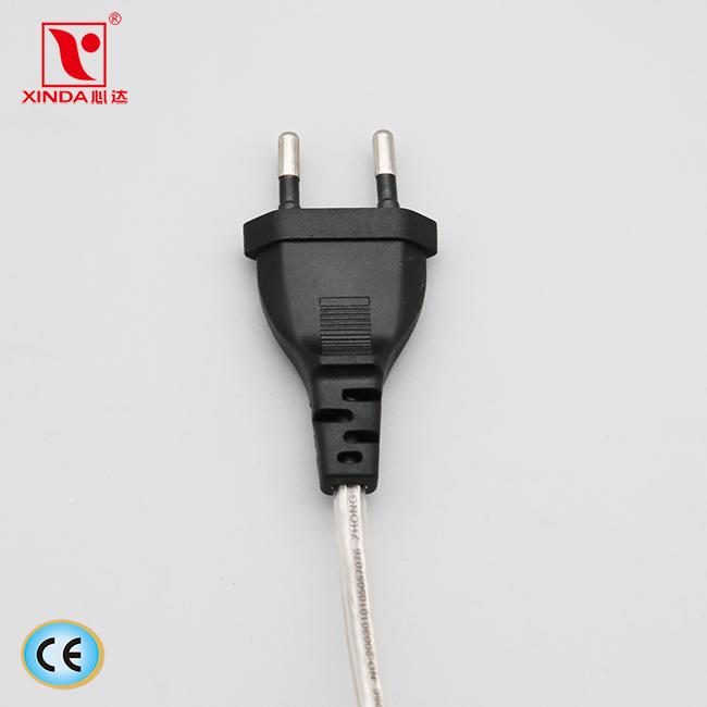 XINDA Plug non-rewirable XD-101 2.5A 250V AC PVC Cu CE