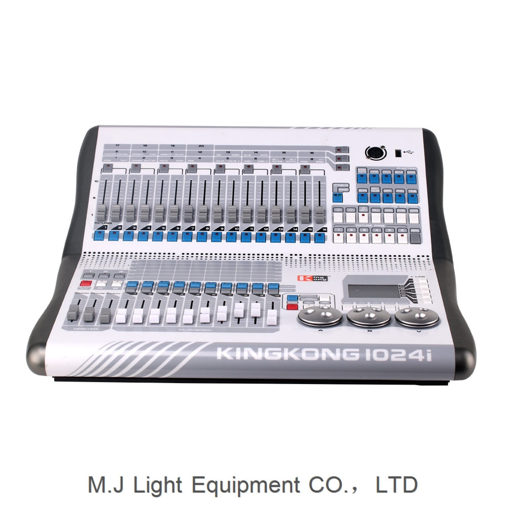 2018 New! With Art-net Lighting Console King Kong 1024I DMX Controller wirth CE Certification