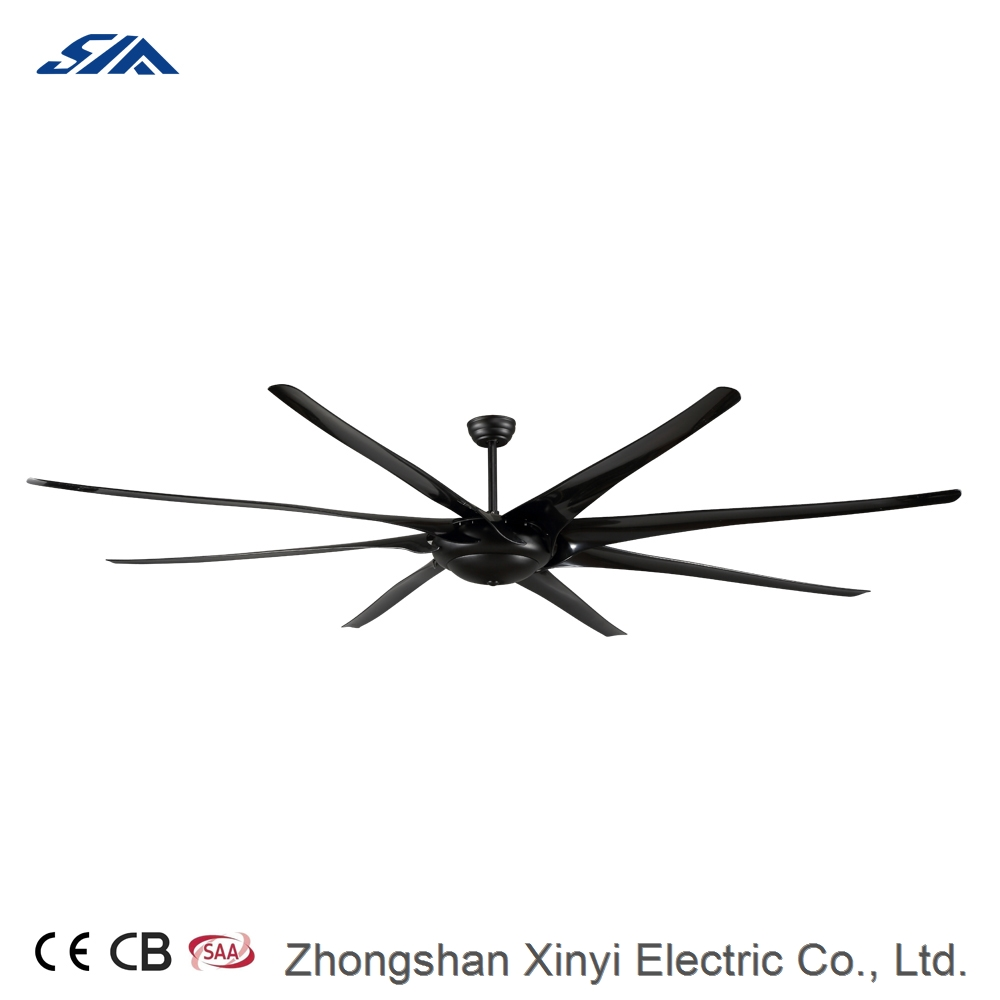 100inch large size big airflow decorative DC ceiling fan