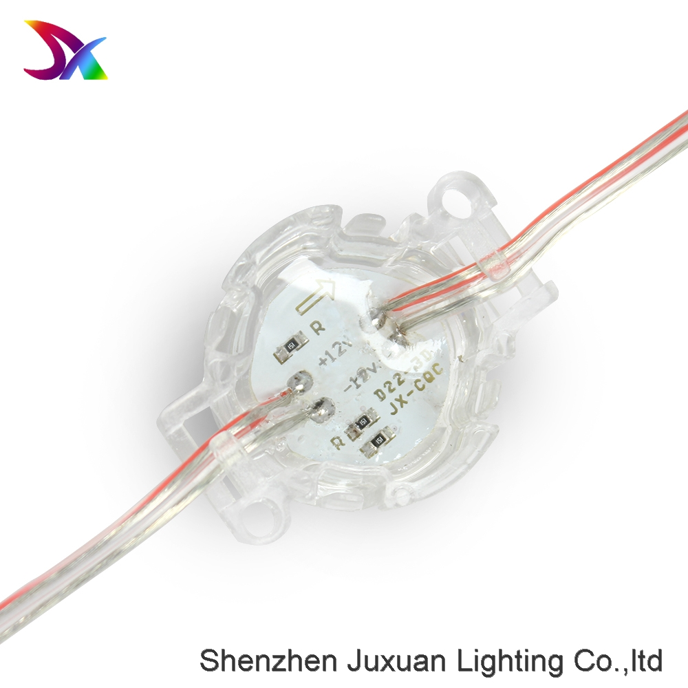 Waterproof Dc12V Smd5050 Rgb Led Pixel Module For Outdoor Use