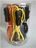 VDE SAA CCC braided power cord with switch on-line switch