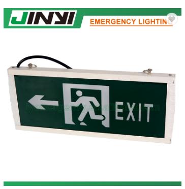 3W LED emergency exit indicator sign