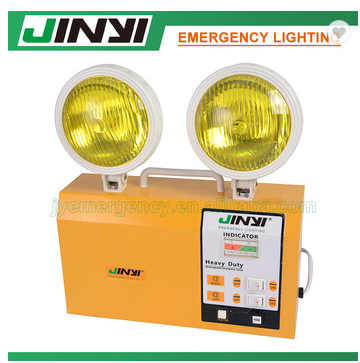 non maintain emergency twin led spot lights with 2-6 hours duration