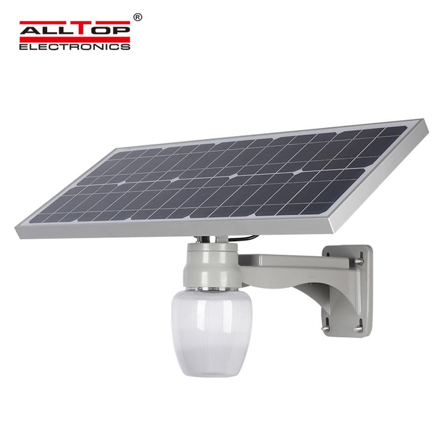 China products waterproof ip65 outdoor 20 30 watt integrated solar led street light housing