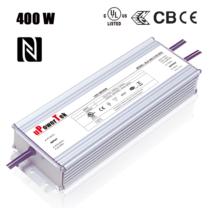 Constant Current IP67 waterproof Power Supply 400W LED Driver