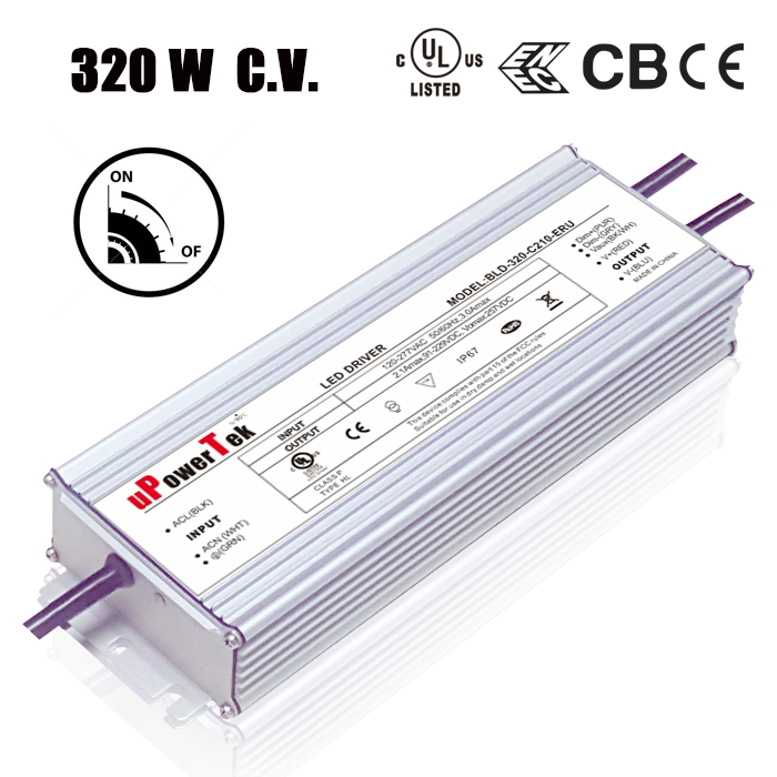 Constant Voltage dimmable 24V IP67 Waterproof 320W 48V Power Supply 48V LED driver 48V