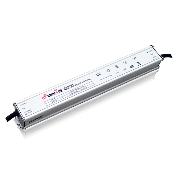75W IP67 Waterproof Slim Line LED driver for grow light