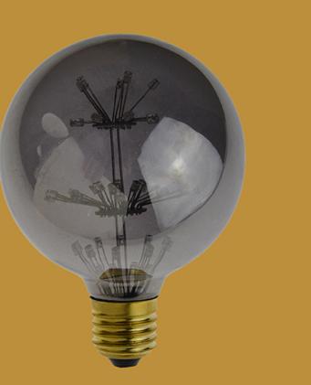 LED laser decorative bulb