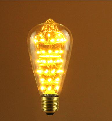 Teardrop LED Warm White Retro Bulb