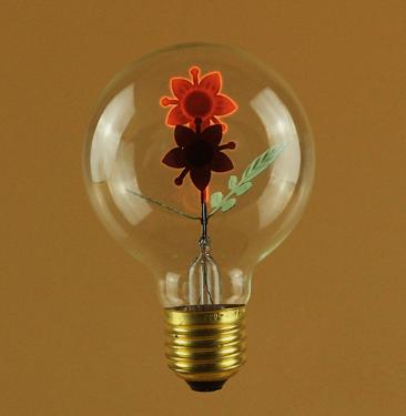 Double Sunflower Edison Vintage Bulb
