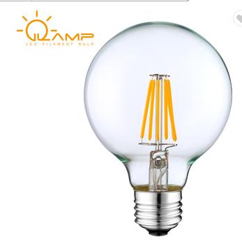 Globes G80 G25 pendant light filament bulbs E27 E26 B22 edison bulb