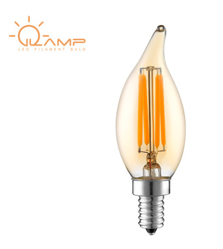 Warm white candle bulb dimmable E14 led bulb 2700K