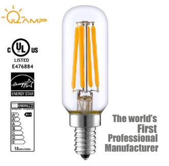 CE ROHS ERP T25 4w Clear Glass New Arrival 3 Years Warranty Filament lamp LED