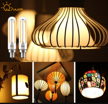 CE ERP Top Quality Material Clear Glass T20 Led filament christmas light edison bulb with e12 e14 ba