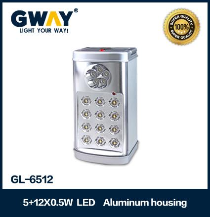Aluminum housing(New) 5pcs of LED spotlight+12pcs 0.5W high power LED