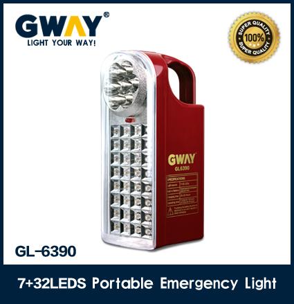GL-6390 (7LED spotlight+32pcs of 1800-2000MCD LED light)