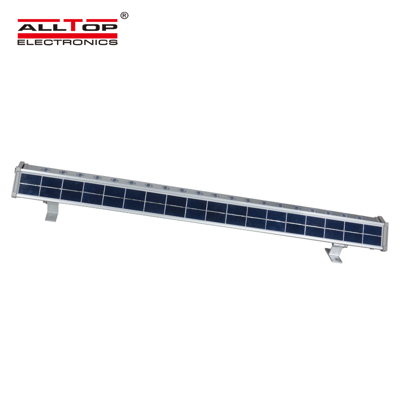 Classical Design IP65 Waterproof Aluminum housing 10w 20w solar led wall washer