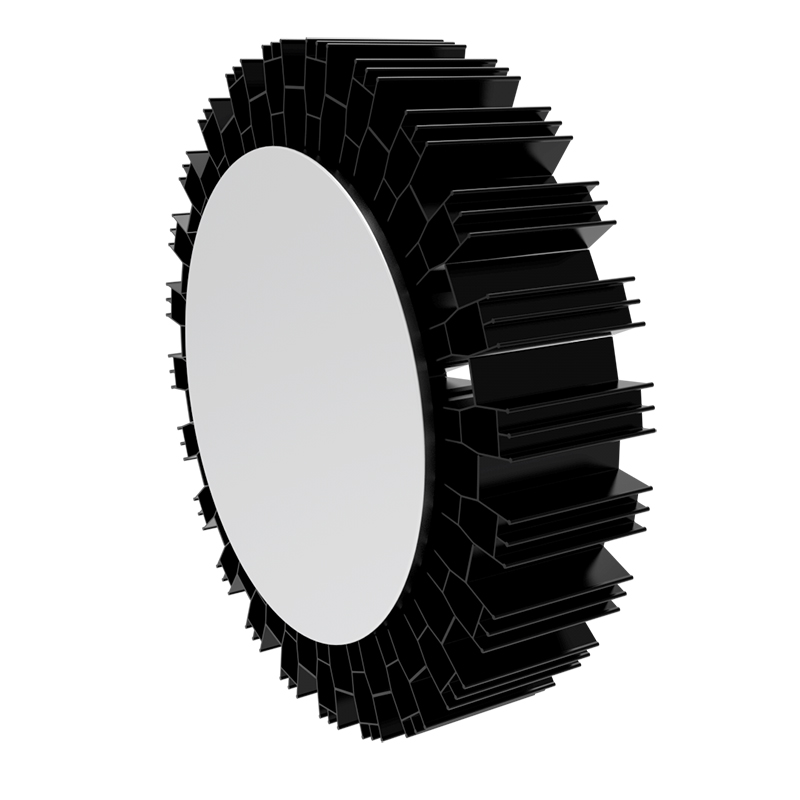 120W RSH Series Copper Pipe Heat Sink for LED High Bay Light Architectural Light Downlight Spot