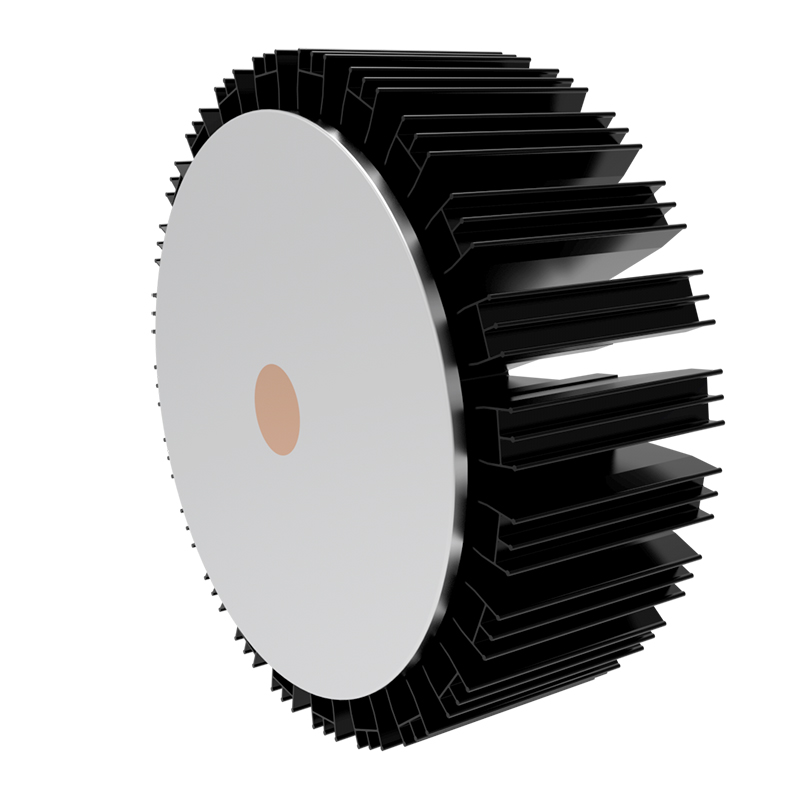 100W RSH Series Copper Pipe Heat Sink for LED High Bay Light Architectural Light Downlight Spot