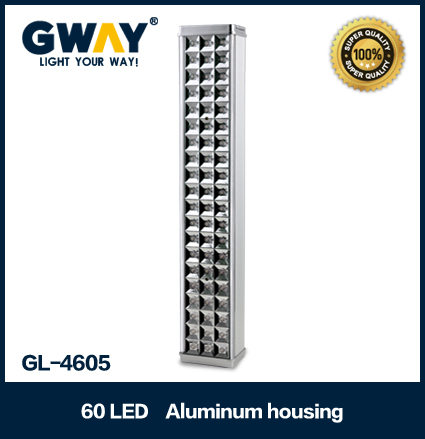 Aluminum housing(New) 60pcs of 5-6LM 3528 SMD LED light