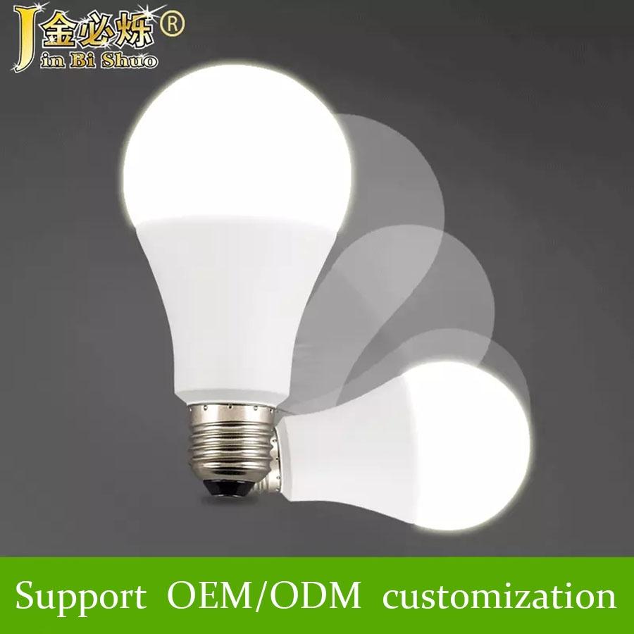 A60 5w 7w 9w 12w bivolt led lighting led light lampada led