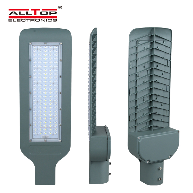 high quality high lumen integrated waterproof ip65 120w led street light lamp