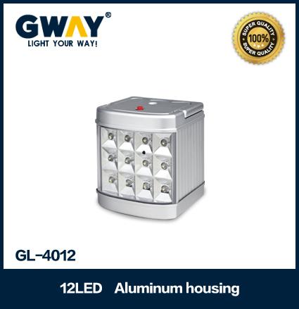 Aluminum housing(New) 12pcs of 5-6LM 3528 SMD LED light