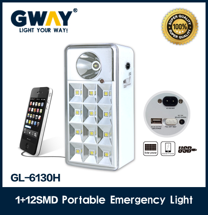 1W led spotlight+12pcs SMD led