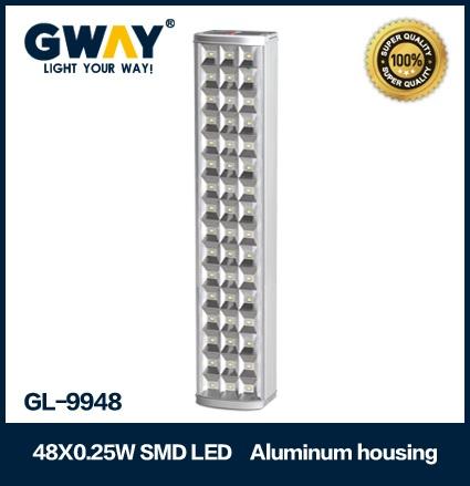 Aluminum Housing(New) 48pcs of HI-Power 5050SMD LED light