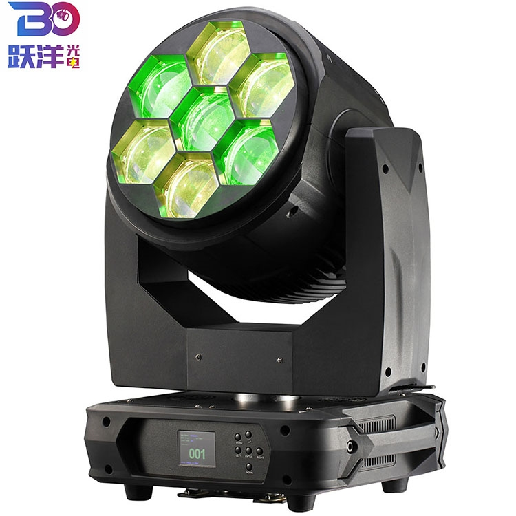 7x60W B-eye zoom wash moving head light